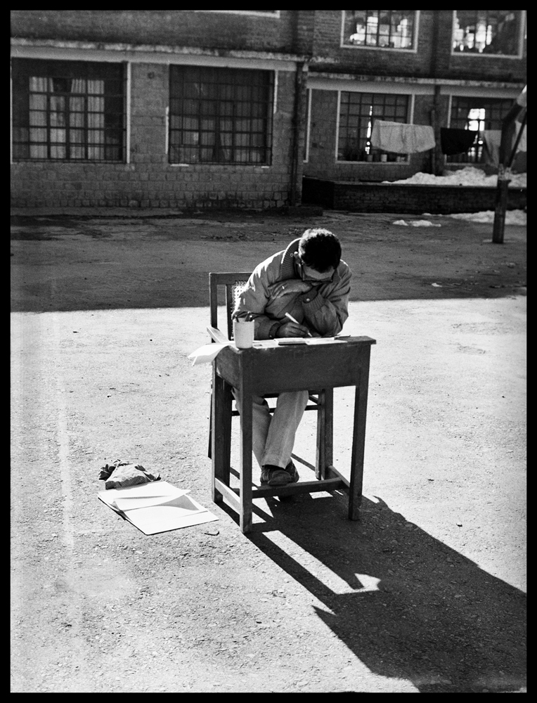 Charles A. Meyer: Student Working